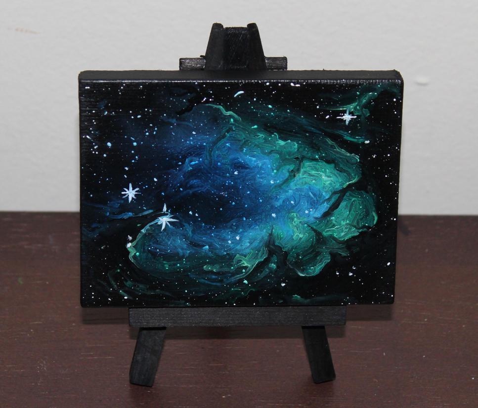Mini Dark Nebula by crazycolleeny