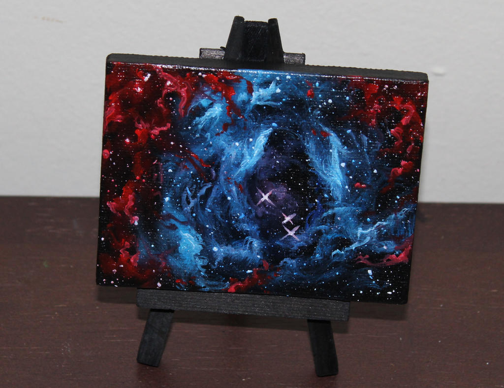 Mini Rosette Nebula by crazycolleeny