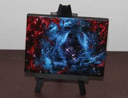 Mini Rosette Nebula by crazycolleeny