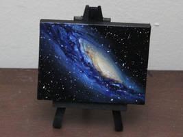 Mini Galaxy by crazycolleeny