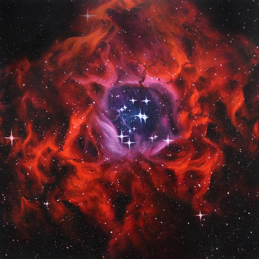 Rosette Nebula by crazycolleeny