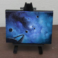 Mini Planets by crazycolleeny