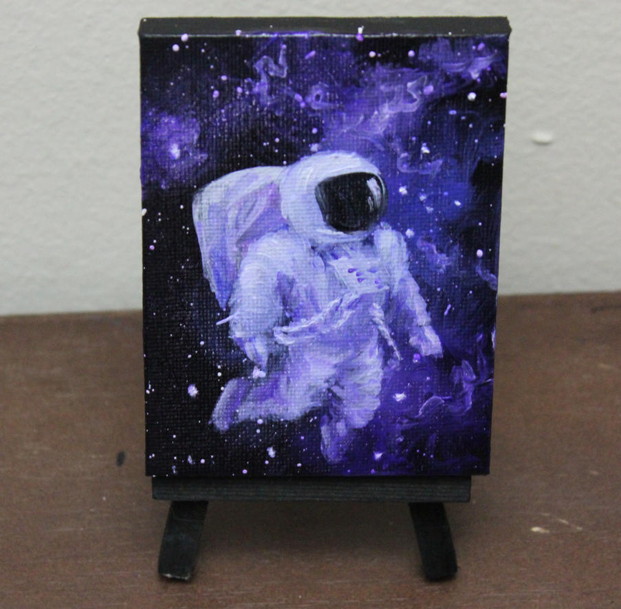 Astronaut Marshmallow by crazycolleeny