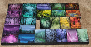 Mini Artomat Forests 1-25 by crazycolleeny