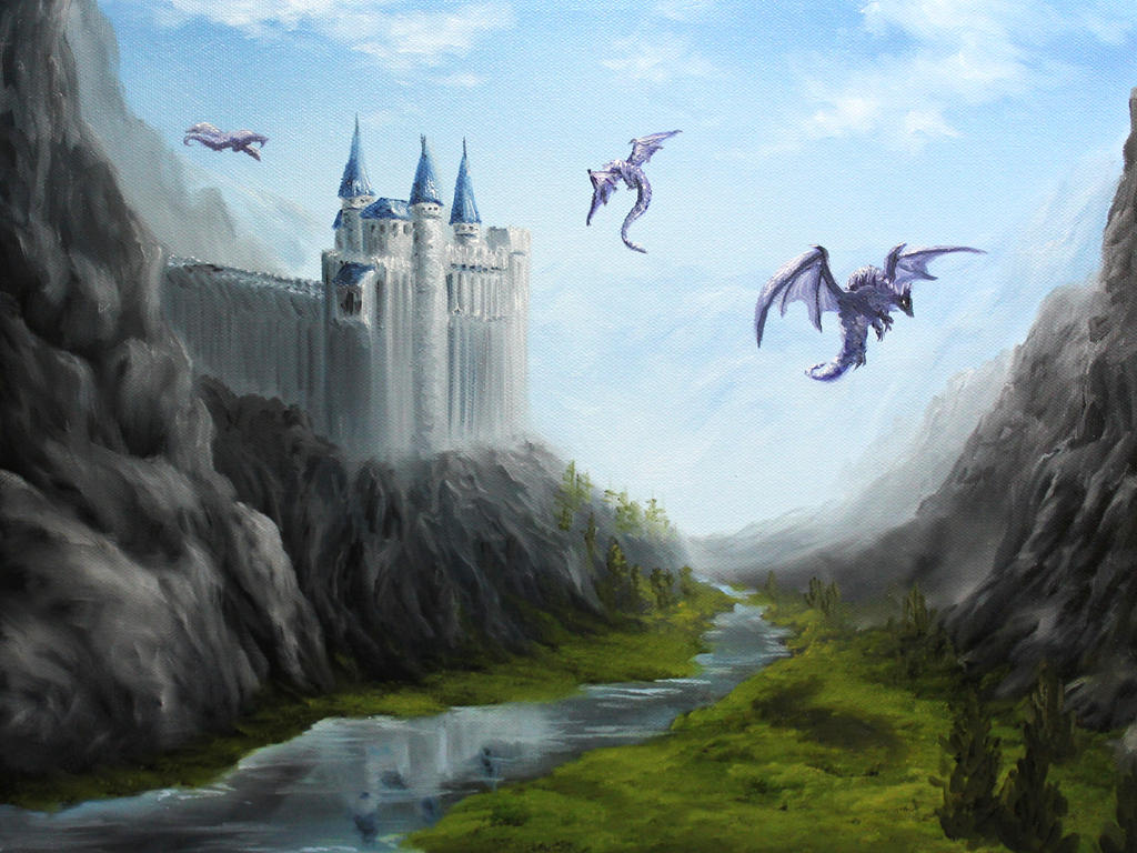 Dragon's Keep by crazycolleeny
