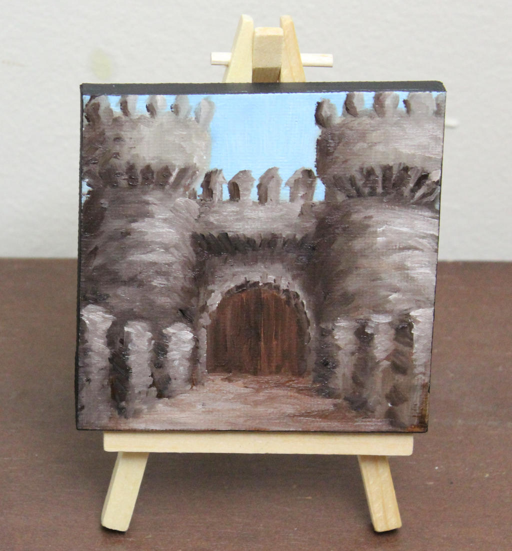 Mini Castle Entrance by crazycolleeny
