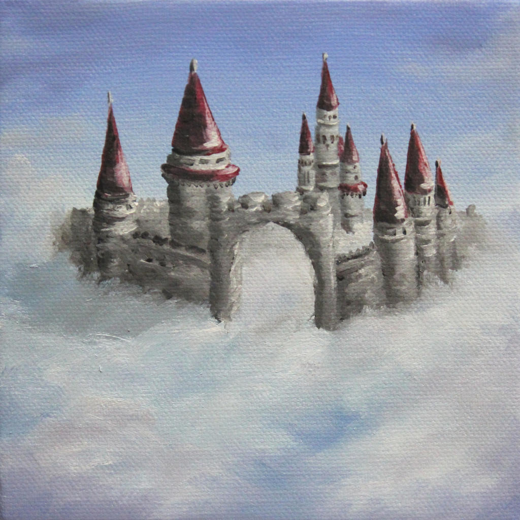 Castle in the Clouds by crazycolleeny