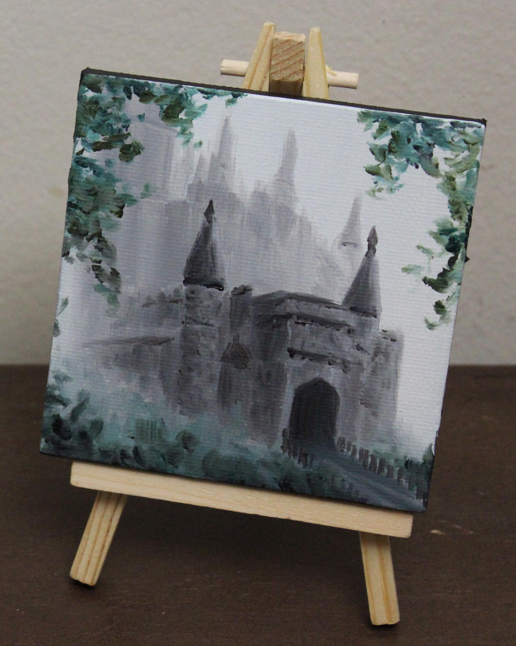 Mini Morning Castle by crazycolleeny