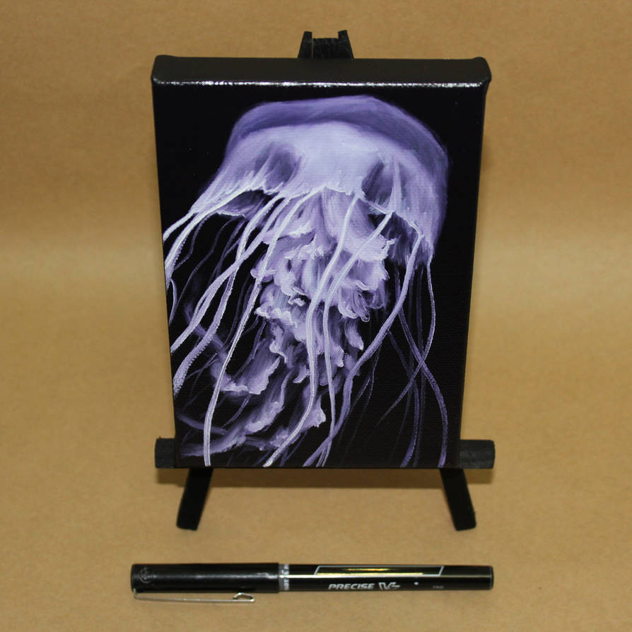 Lavender Jellyfish by crazycolleeny