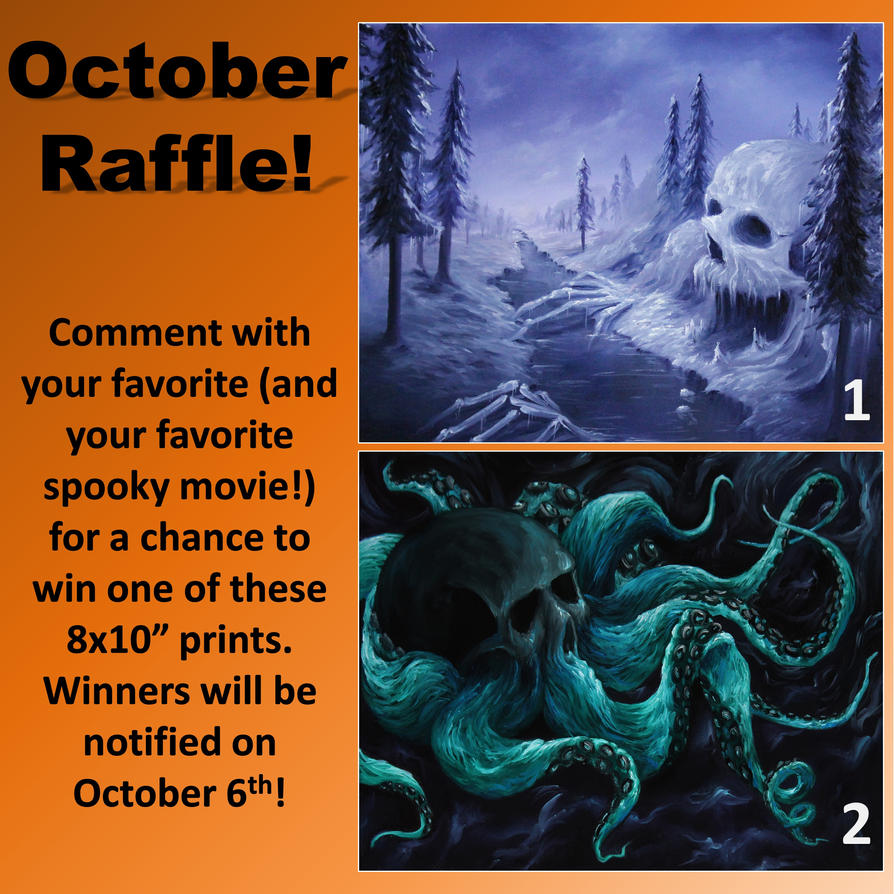 Raffle 2018-10 by crazycolleeny