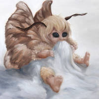 Baby Moth Fairy by crazycolleeny