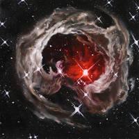 V838 Monocerotis by crazycolleeny