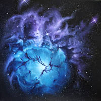 Trifid Nebula by crazycolleeny