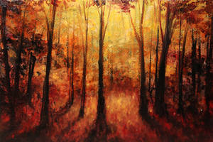 Autumn Evening by crazycolleeny