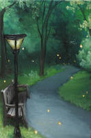 Lamppost by crazycolleeny