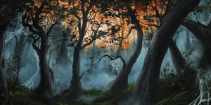 Spider Forest by crazycolleeny