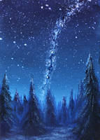 Little Milky Way by crazycolleeny
