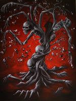 Skeletree by crazycolleeny