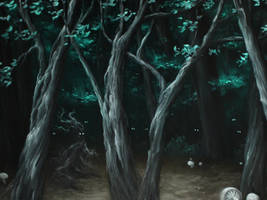 Forest Eyes by crazycolleeny