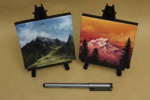 Mini Mountains 1 by crazycolleeny