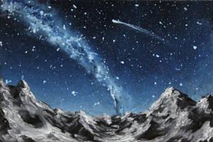 Under Stars by crazycolleeny