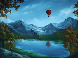 Red Balloon by crazycolleeny
