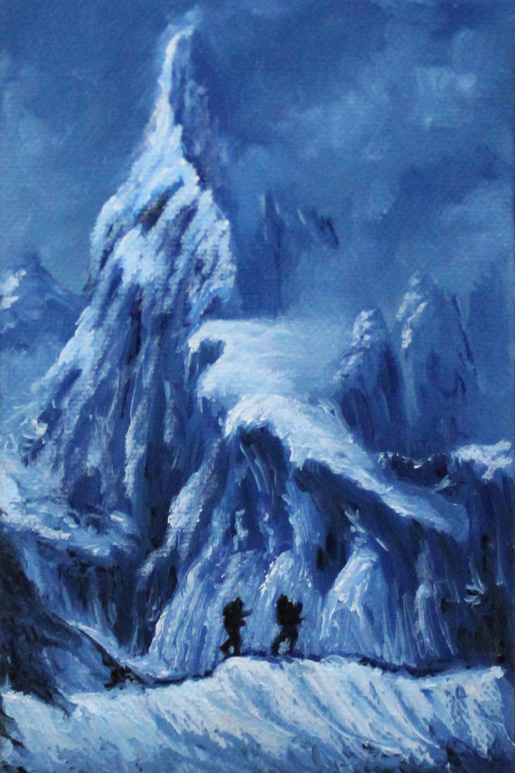 Icy Climb by crazycolleeny