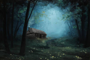 Little Cabin by crazycolleeny
