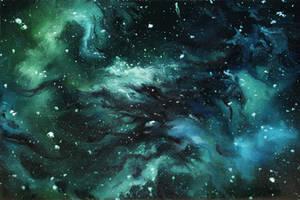 Little Nebula by crazycolleeny