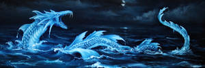 Sea Dragon by crazycolleeny