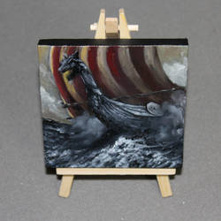 Little Longboat by crazycolleeny