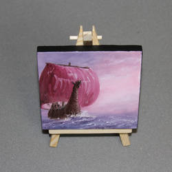 Pastel Longboat by crazycolleeny
