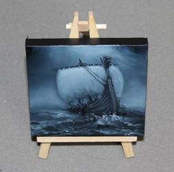 Evening Longboat by crazycolleeny