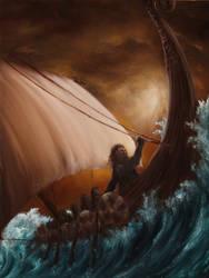 Viking Dwarves by crazycolleeny