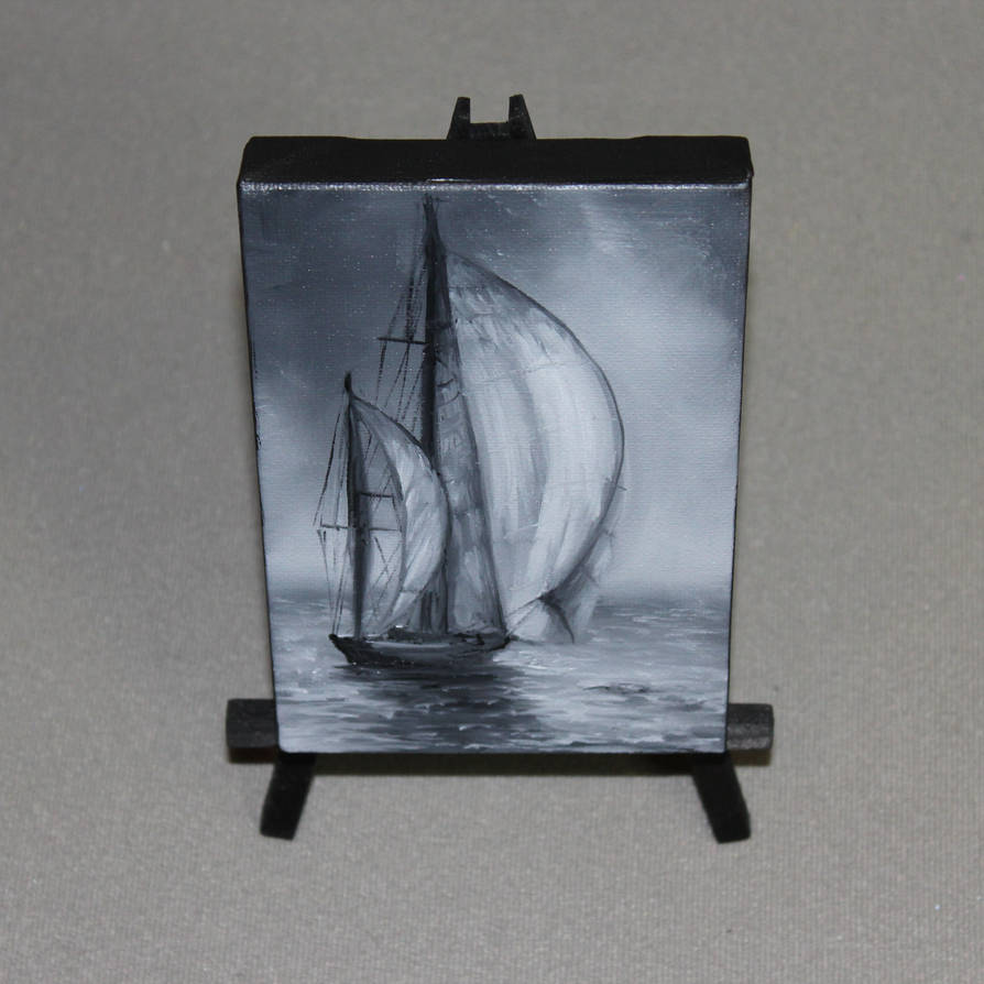 Gray Sails by crazycolleeny