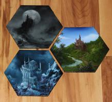 Mini Castle Paintings