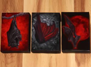 Mini Bat Paintings