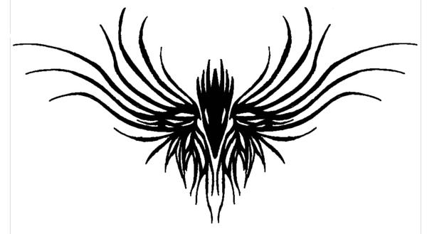 3cd720ae8 Tribal raven Tattoo by Ace-of-Darkness07 on DeviantArt