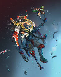 Space Pirate  by VKovpak