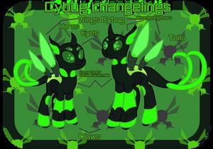 Species: Cybug Changelings MYO/OC/MLP