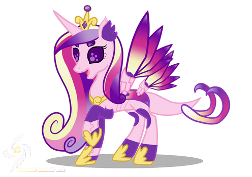 Princess Cadence-Cybug Changelings
