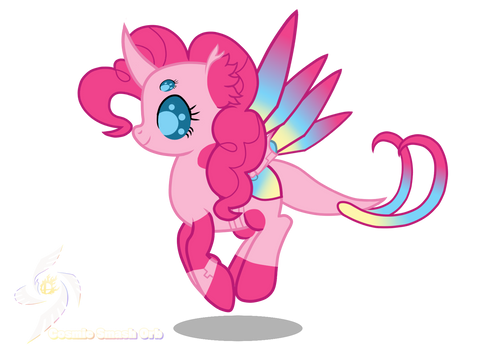 Pinkie Pie-Cybug Changelings