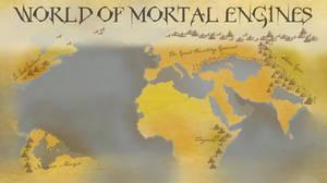 World of Mortal Engines -Map