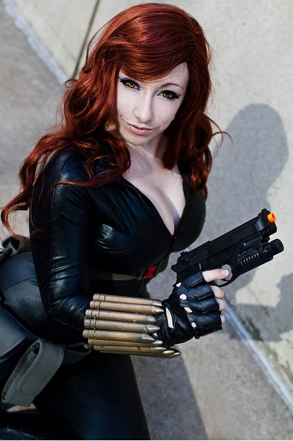 Agent Romanoff by Its-Raining-Neon