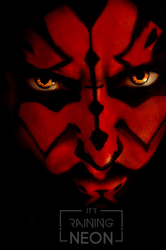 Darth Maul by Its-Raining-Neon