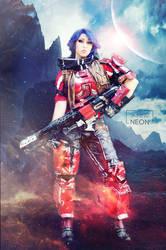Athena cosplay Borderlands Pre- Sequel