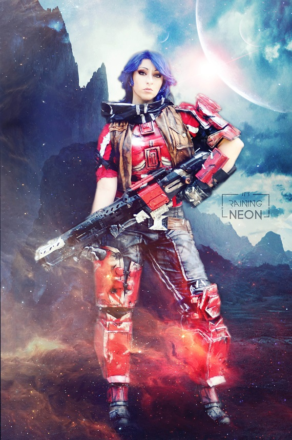 Athena cosplay Borderlands Pre- Sequel by Its-Raining-Neon