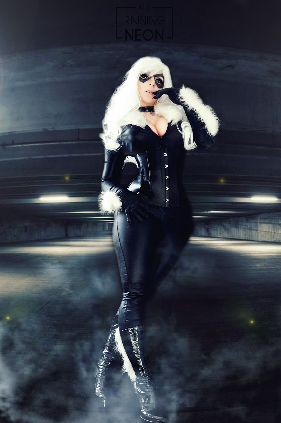 Black Cat /Felicia Hardy by Its-Raining-Neon