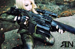 Sniper Wolf Cosplay - Metal Gear Solid
