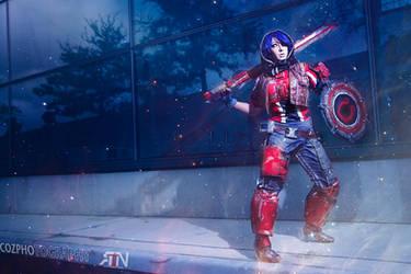 Athena Borderlands Pre- Sequel Cosplay